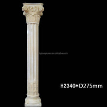Popular stone column molds and marble roman pillar granite roman columns for sale