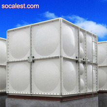China fiber glass reinforced polyester FRP water storage tank plant