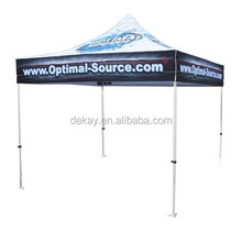 Customized Canopy Folding outdoor tenda with full wall/ half wall one piece acceptable 3x3m