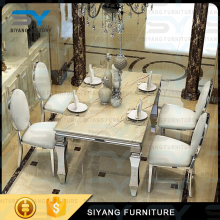 Alibaba china supplier wholesale restaurant furniture dining table with chairs CT004