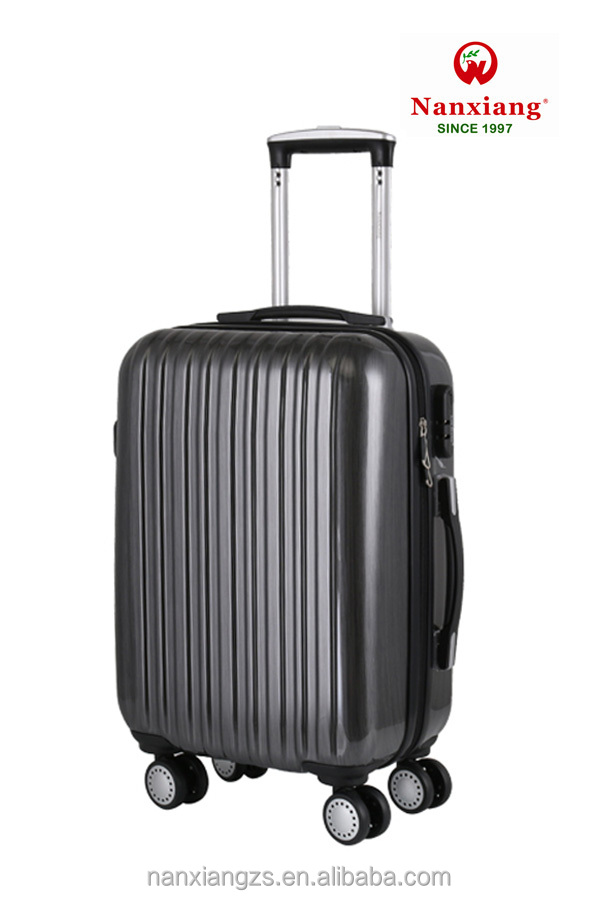 ABS PC zhongshan luggage bag trolley