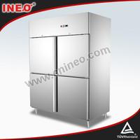 Stainless Steel 4 Doors Refrigerator Price/CFC Free Refrigerator/Kitchen Cabinet Refrigerator