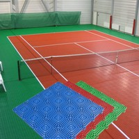 Made In Qingdao China Special Discount pp interlock tiles modular tennis court