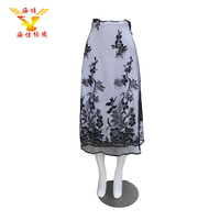 High quality wholesale lightweight polyester custom printed tulle fabric