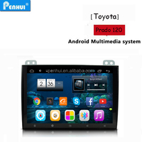 PENHUI Android 4.4 Quad core Car PC GPS For Toyota Prado 120 (2004-2010)