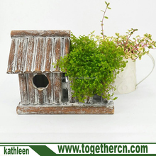 Hanging Vintage Bird Houses by CEDAR HOME Outdoor Garden Patio Decorative Pet Cottage Flower Pots