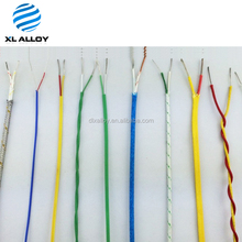 silicone insulated K type extension thermocouple wires