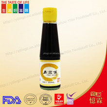 china factory supply 200ml fish sauce with best quality