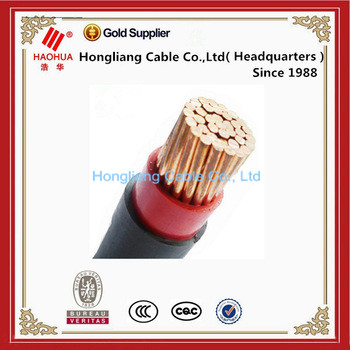 No.0177- Low voltage pure Cu Copper power cable manufacturers sizes 16mm 25mm 35mm 50mm 70mm single core cable