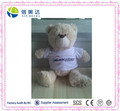 Customize T-shirt teddy bear plush toy