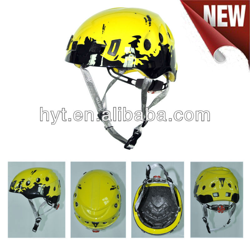 MH1201 In-mold Light-weight PC Rock Climbing Helmet