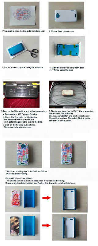 3D Sublimation Vacuum Machine/3D Sublimation Vacuum Heat Press Machine/3D Sublimation Machine for Film Cases
