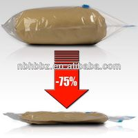 zipper lock vacuum bags for pillow packing