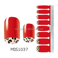 silicone sticker for nail&nail art letter sticker