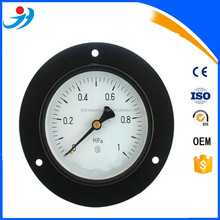 "6""( 150mm) bottom dry pressure gauge with back flange 0-1MPa"