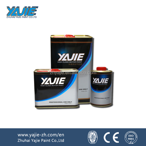 Yajie Brand Acrylic Automotive Clear Coat Paint