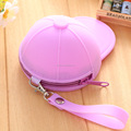 hat-style silicone purse coin/bulk wholesale silicone coin purse