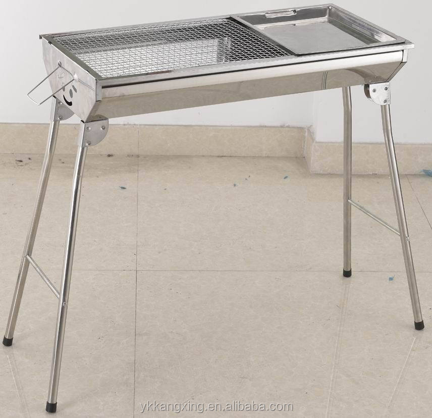 stainless steel outdoor stove with wire mesh bakery tray