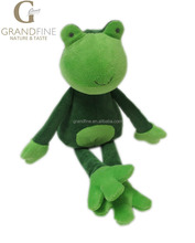 Fancy customized gift plush toy frog