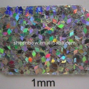 1mm Holographic laser Pigment Special Shape