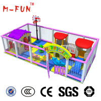 Indoor soft playground equipment for kids