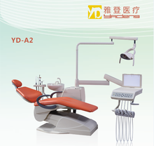 Luxury dental chair with sensor dental lamp and key- touch control system YD - A2