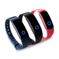 2016 new arrival multicolor bluetooth health wristband with long standby time