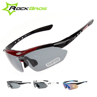ROCKBROS Polycarbon Cycling Sun Glasses Polarized Outdoor Sports goods Bicycle Glasses Bike Sunglasses TR90 Goggles Eyewear