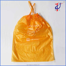 Alibaba Supplier factory price custom colored printed Plastic Drawstring Trash Bags