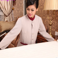 hotel staff dress Designt-Housekeeping Dress