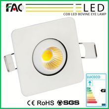 Hot 2016 CE Rohs approved small angle free standing spotlights
