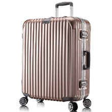 Aluminum frame Trolley luggage Case with Waterproof TSA Lock