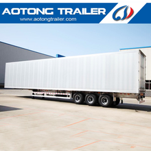 Heavy duty Welding type extruded aluminum profile dry van semi trailer