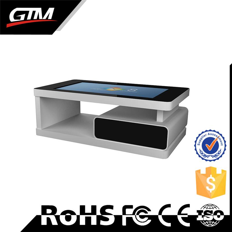 "32"" kiosk touch i7 pc wifi LCD touch table display digital kiosk LCD screen coffee table multi touch table"
