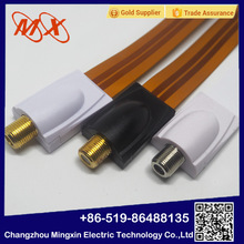 Vuelos baratos de China <span class=keywords><strong>cable</strong></span> plano con tv coaxial para al <span class=keywords><strong>por</strong></span> mayor