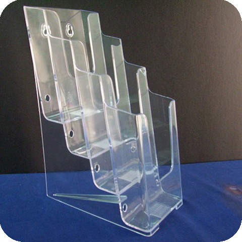 2016 good acrylic slatwall book display shelf with ledge