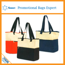 Wholesale digital printed Cotton tote bag canvas bag shopping customized bags