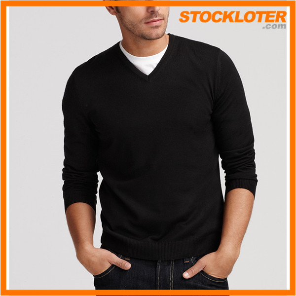 Stock Mens V/<strong>N</strong> Sweater top closeout stocklots for winter, 161106c