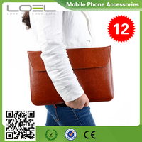 "Notebook Sleeve Laptop Flap Case Bag PU Leather Cover Skin Envelope Style for MacBook Air/Pro 13"" B044133(1)"
