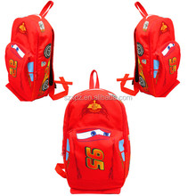 Hot Sell Popular Cartoon Toy Car Backpack school bag for Kids