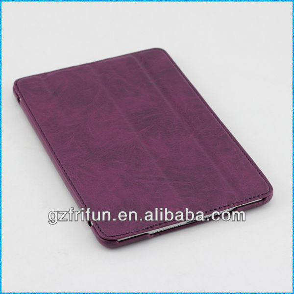purple 4 folding case protection for ipad mini from frifun