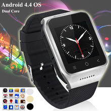 ZGPAX S8 1.54''Android4.4 3G MTK6572 Dual Core Phone Watch Email Camera GPS WIFI