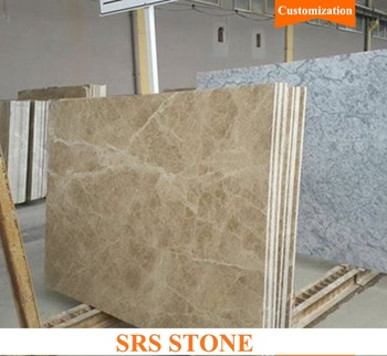 Turkey light emperador for hotel floor and vanity top Beige marble tile