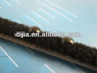 Woven pile weatherstripping/mohair weather strip