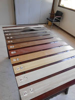 Wood Grained Vinyl Tile
