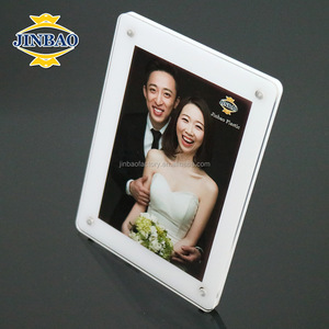 JINBAO Plastic picture frame,plastic picture frame for photos,Acrylic picture frames 3x5