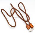 cheap price 2m extension nylon braided type a to 8 pin connector charging usb cable