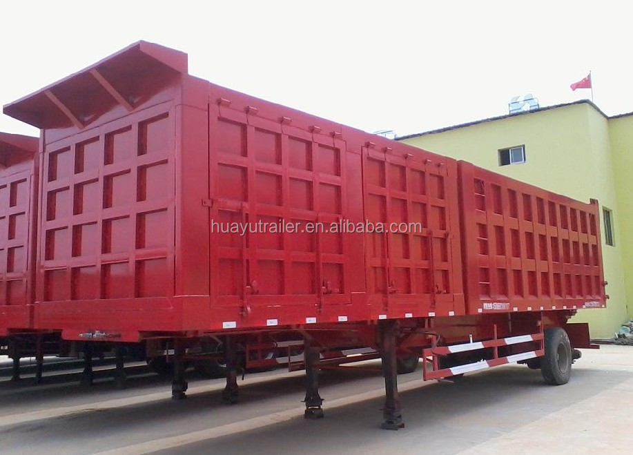 best price van type semi trailer