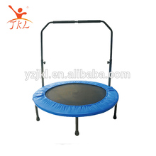 36inch folding/foldable mini kids trampoline/trampolin/trampolines with handle for rent