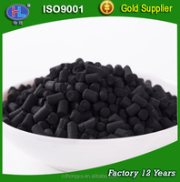 strong adsorption coal based activated carbon for toxic gas purification